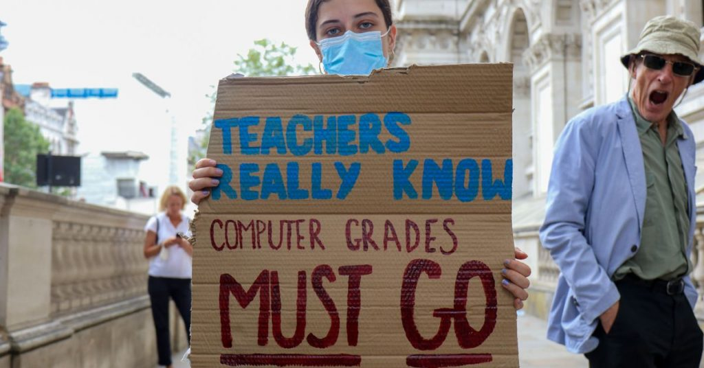 UK ditches exam results generated by biased algorithm after student protests