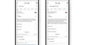 "You can type ""how to vote"" into Google now for instant state-by-state voting instructions"