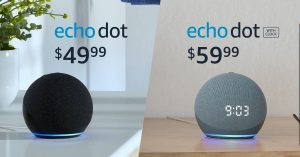 Amazon rolls out new ball-shaped Echo Dots, starting at $50