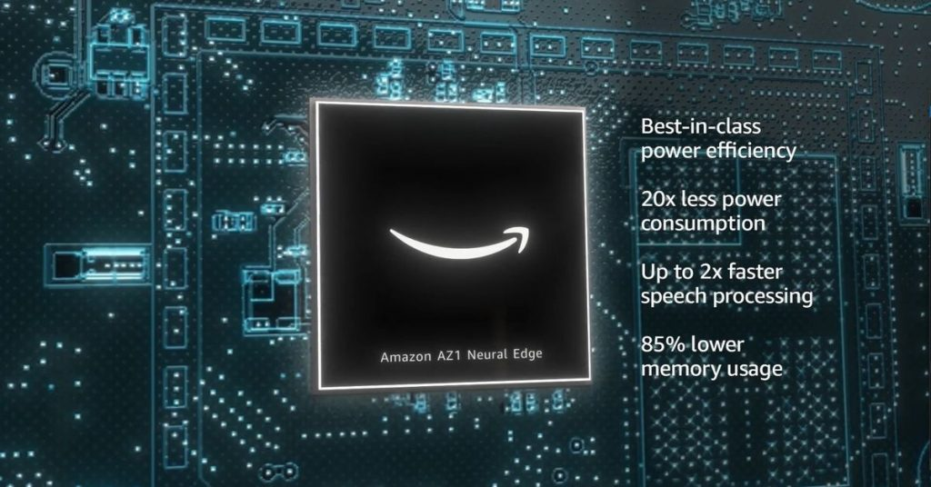 Amazon's AZ1 Neural Edge processor will make Alexa voice commands even faster
