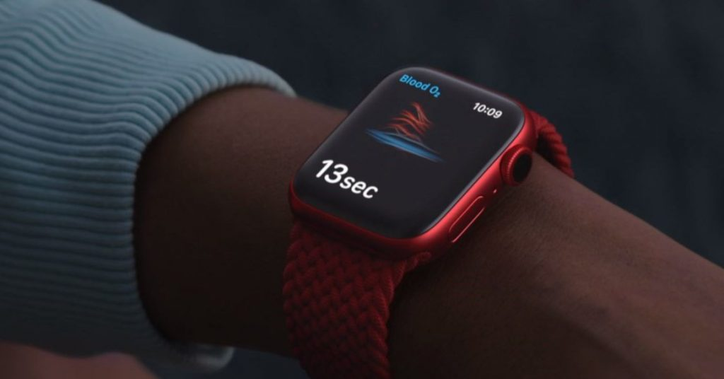 Apple Watch's blood oxygen monitor is for 'wellness,' not medicine