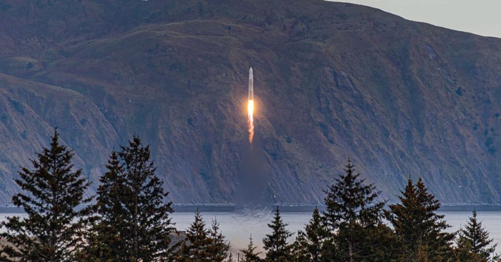 Astra's first attempt to reach orbit ends early after rocket fails mid-flight