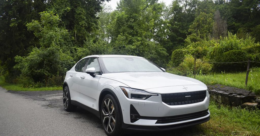 Driving the Polestar 2, the first electric car with a brain by Google