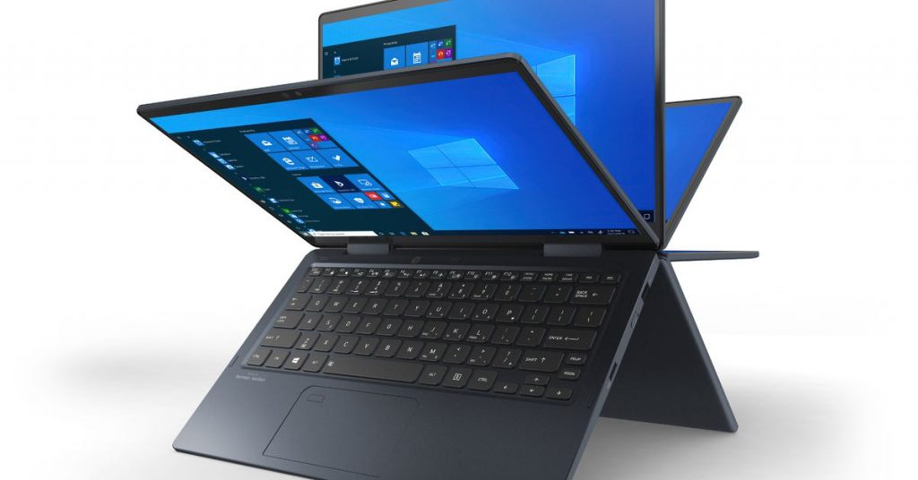 Dynabook's new notebooks feature Intel's 11th Gen processors and Iris Xe graphics
