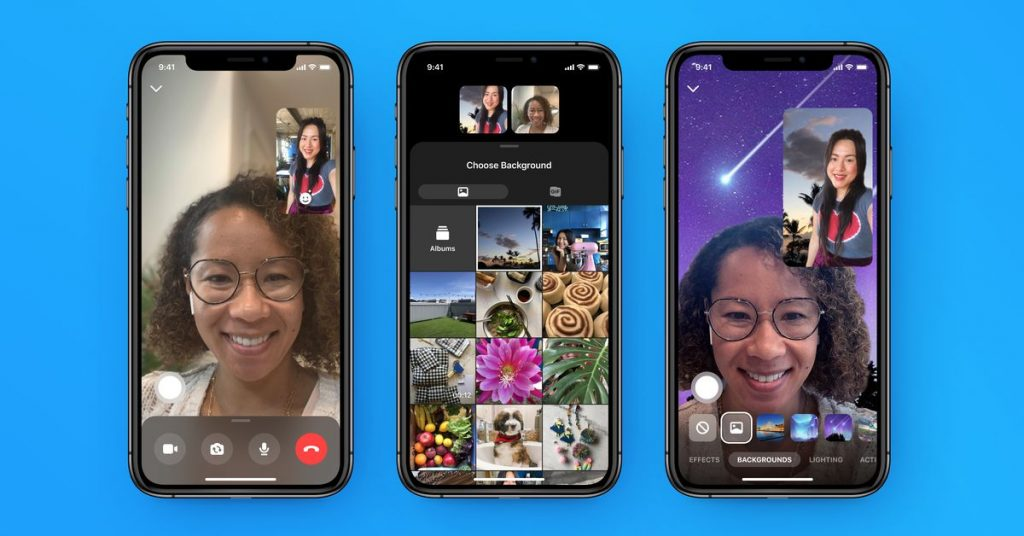 Facebook will let creators put their AR effects in Messenger and Portal