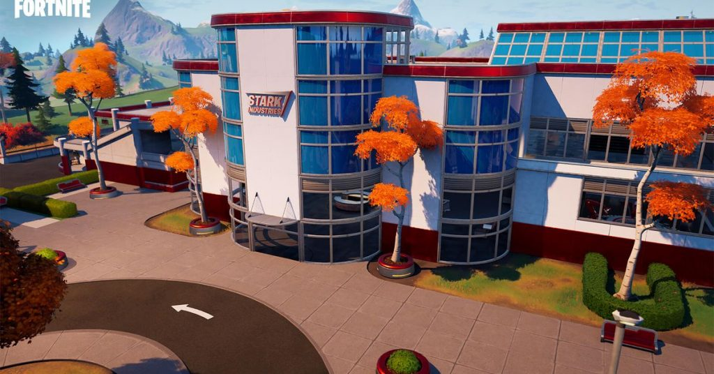 Fortnite's Marvel takeover continues with new Stark Industries location