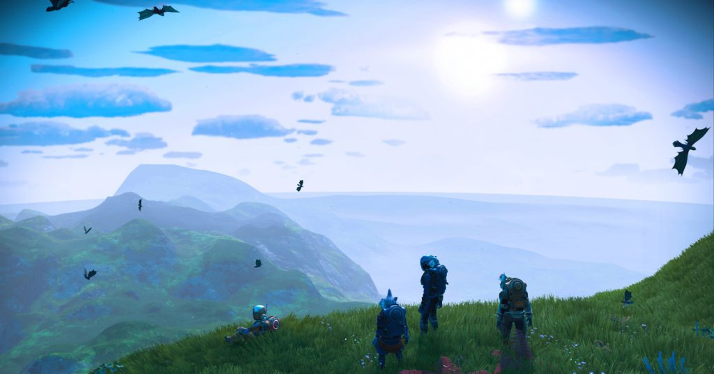 Hello Games says 'our ambitions have grown' since No Man's Sky