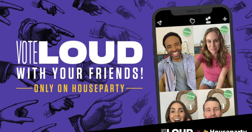 Houseparty partners with Michelle Obama nonprofit to get out the vote