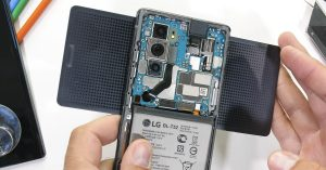 LG Wing teardown reveals how that wild, rotating hinge works