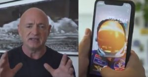 Mark Kelly campaign launches first Snapchat AR lens for a Senate race