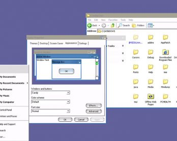 Microsoft had a secret Windows XP theme that made it look like a Mac