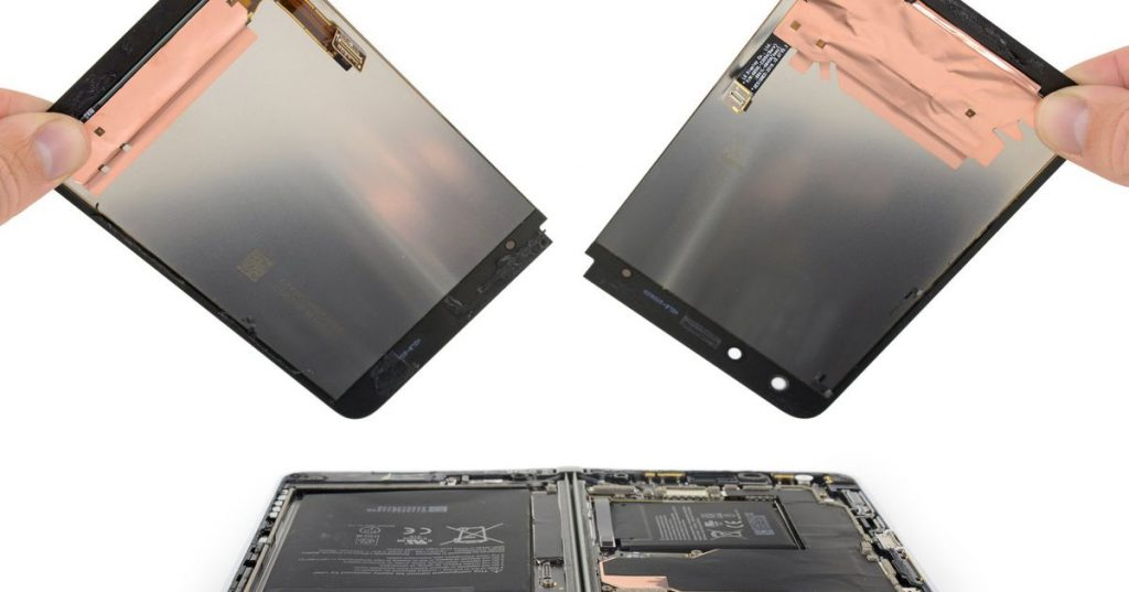 Microsoft Surface Duo teardown: an engineering marvel that's a chore to repair