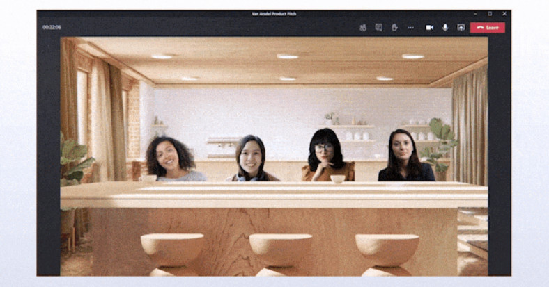 Microsoft Teams is getting fake coffee shops, breakout rooms, and custom layouts