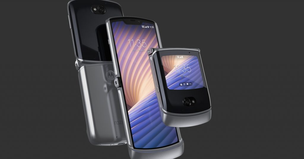 Motorola's second-gen foldable Razr adds 5G, better cameras, and a chance at redemption