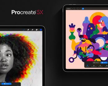 Procreate 5X adds new filters and a handy reference companion view