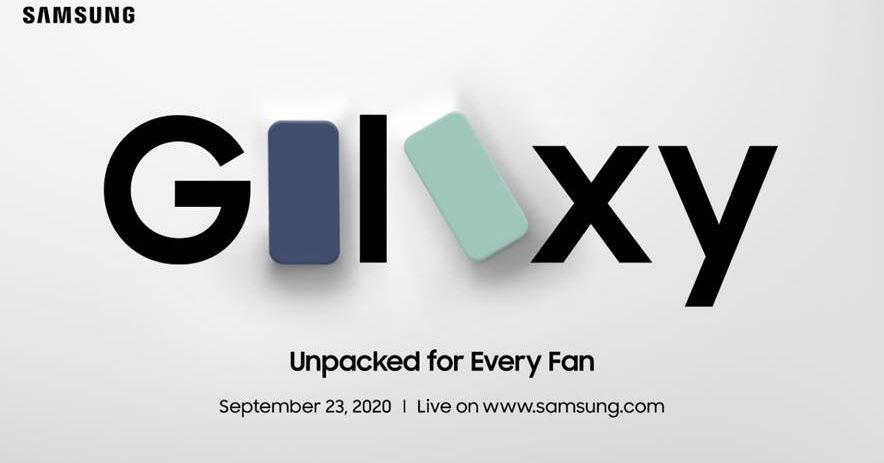 Samsung announces September 23rd event, likely for Galaxy S20 'Fan Edition'