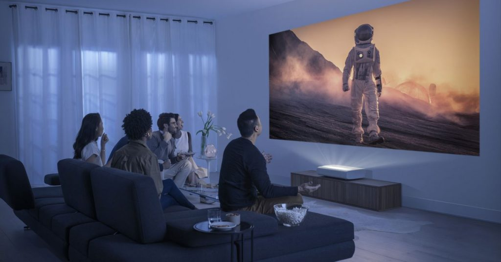 Samsung announces The Premiere, a luxury ultra-short throw 4K laser projector