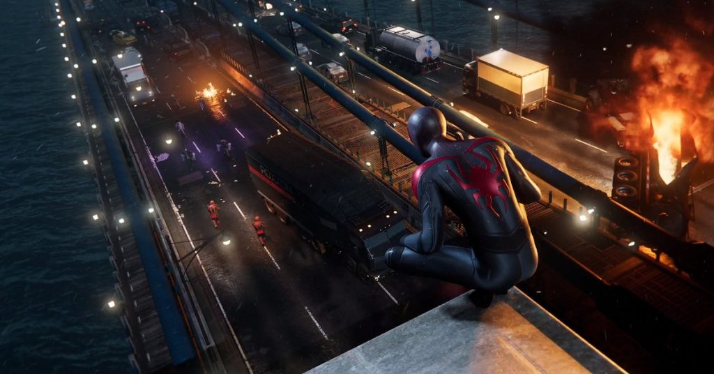 Spider-Man: Miles Morales trailer shows off first look at gameplay on PS5