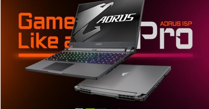 The Aorus 15P is a light gaming laptop designed for esports pros
