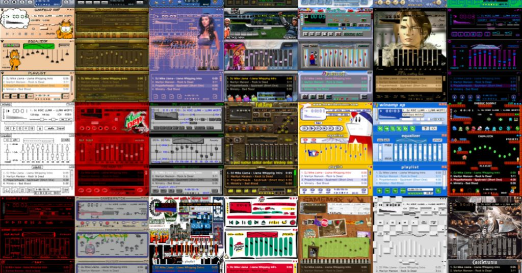 The Winamp Skin Museum lets you relive the wonderful chaos of late-'90s computing