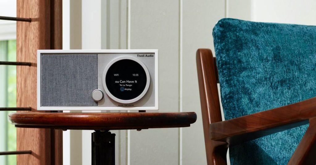 Tivoli's second-gen Model One Digital speaker adds AirPlay and Chromecast support