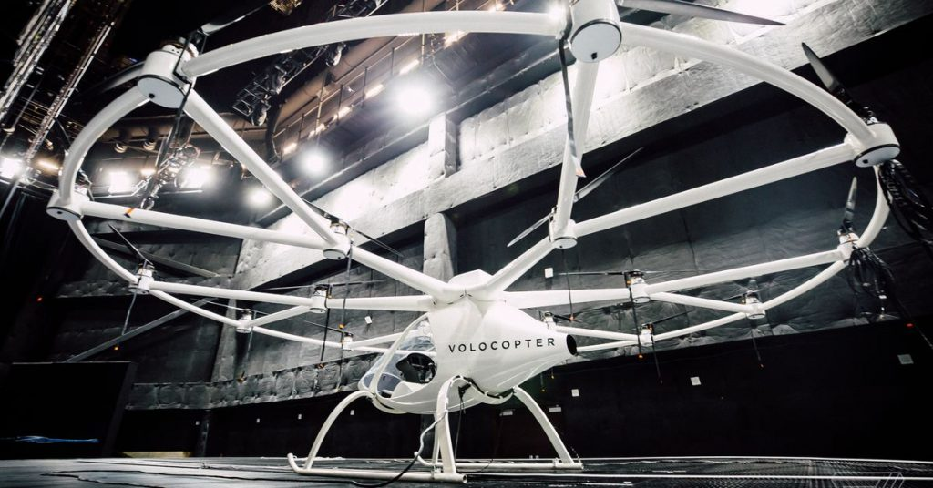 Volocopter now accepting reservations for flights in its electric air taxi