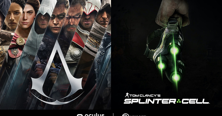 VR Assassin's Creed and Splinter Cell games are coming