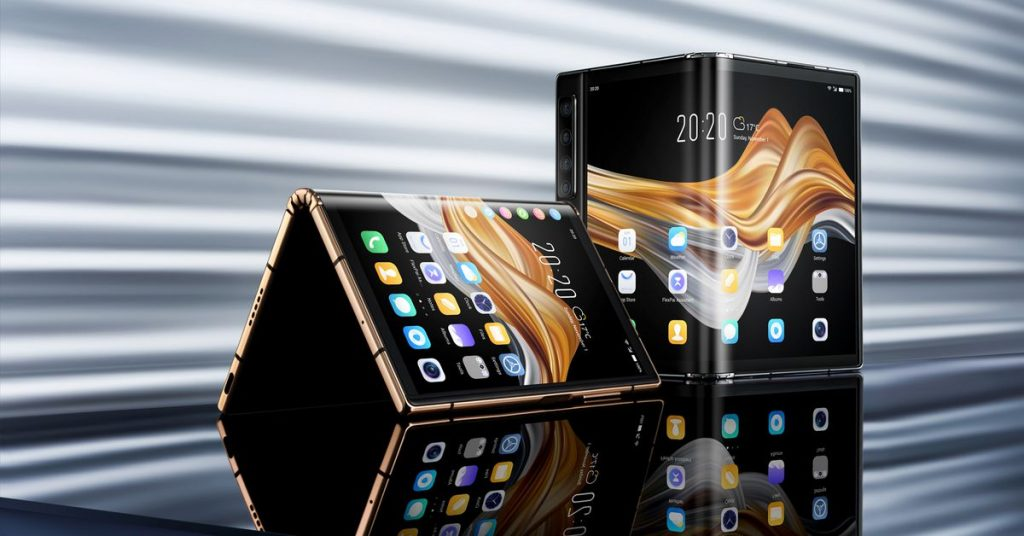 Watch a demo of Royole's new folding phone, on sale today for roughly $1,500