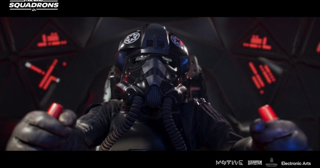 Watch this animated short introducing the story of Star Wars: Squadrons