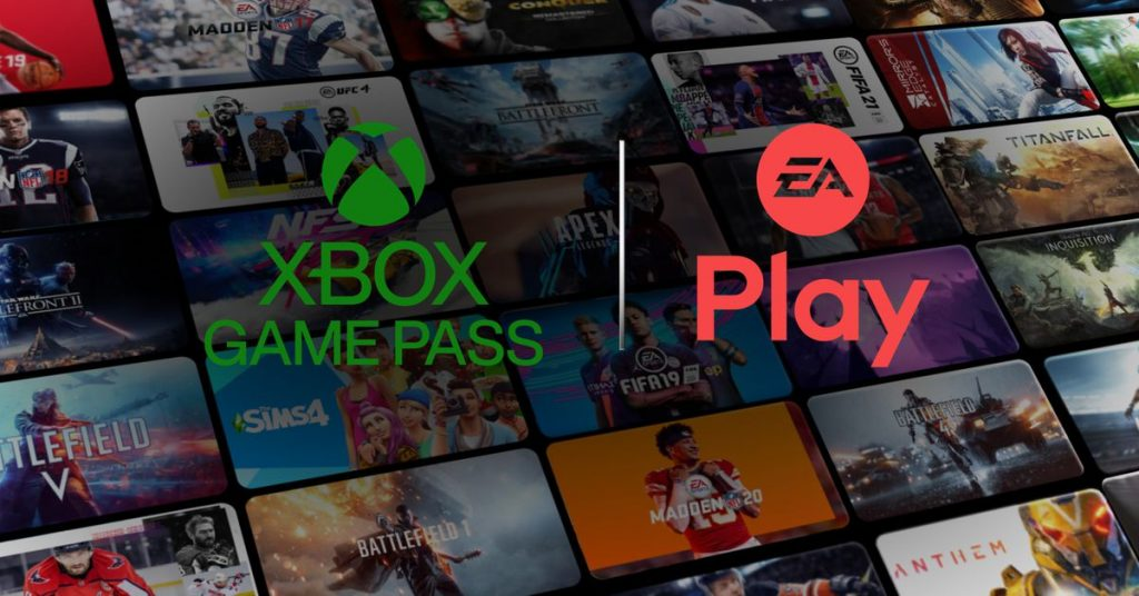 Xbox Game Pass is getting EA Play games on November 10th