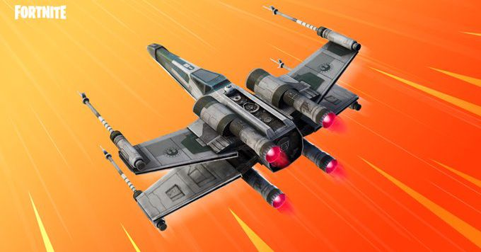You can now buy an X-Wing glider in Fortnite