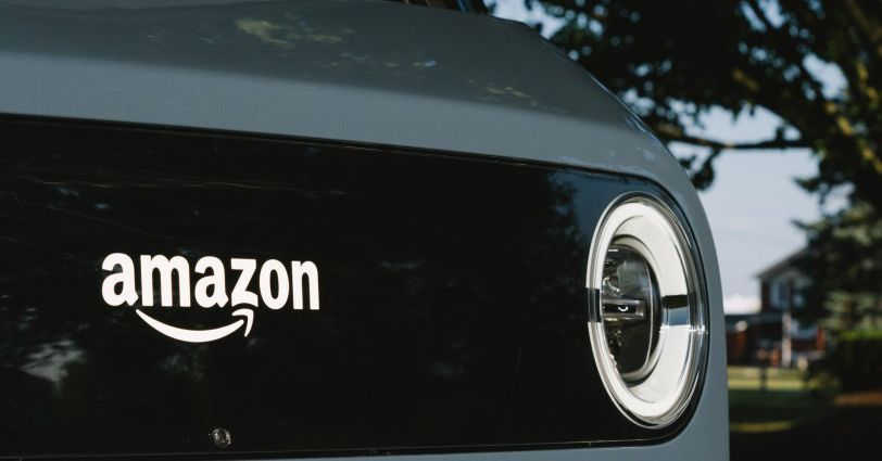 Amazon unveils its new electric delivery vans built by Rivian