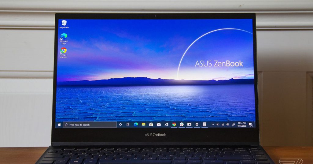 Asus' latest ZenBook Flip S is all about the screen