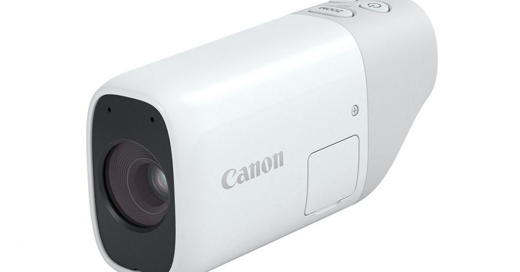 Canon's PowerShot Zoom is like a pocket telescope that takes photos