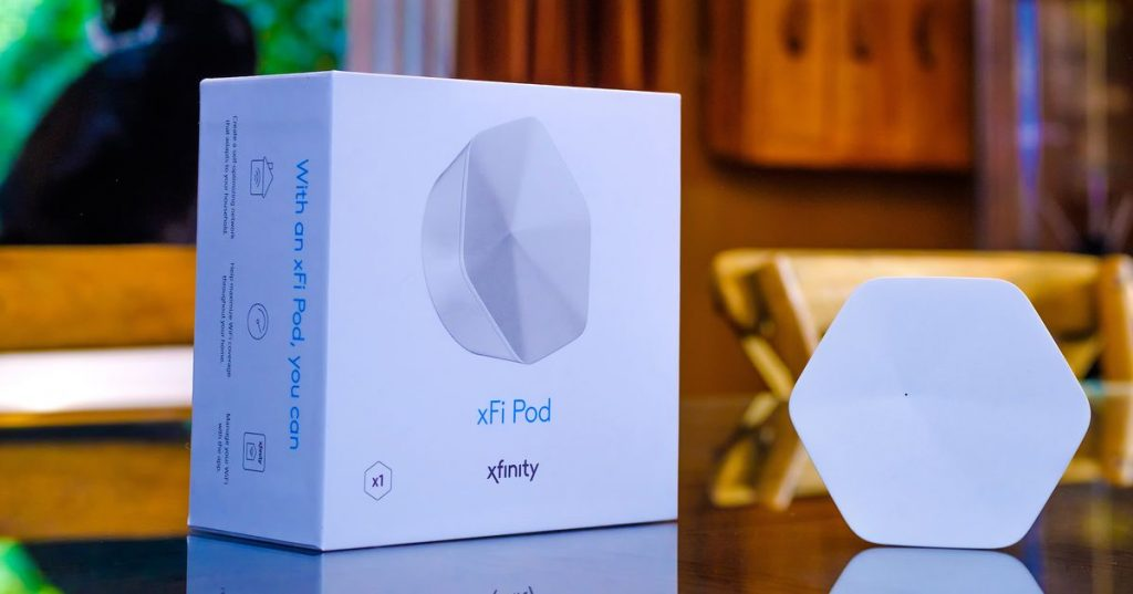 Comcast updates its xFi Pod mesh Wi-Fi extenders with faster speeds and fewer pods