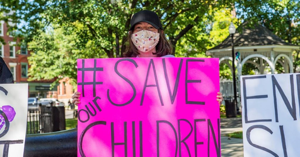 Facebook will fight QAnon by adding 'credible' info to #savethechildren hashtag