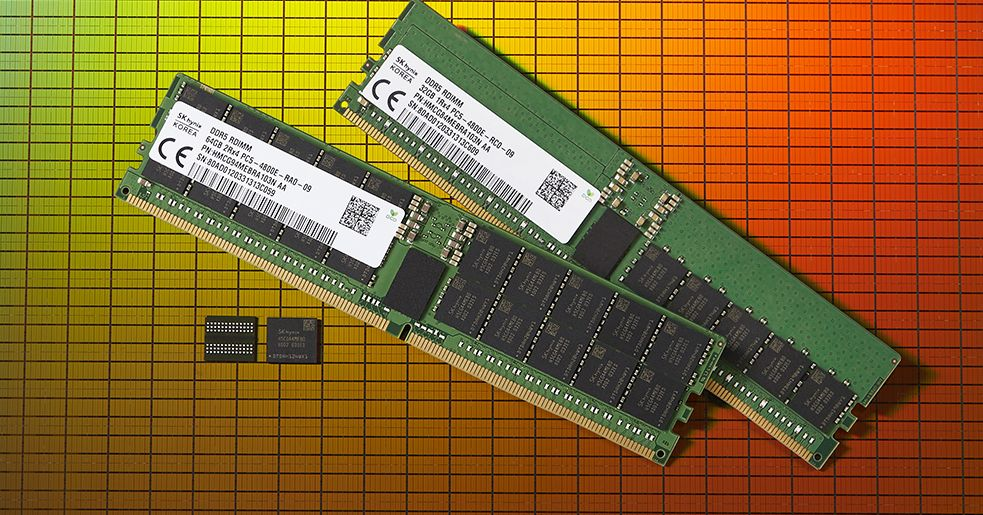 Feast your eyes on the first DDR5 memory modules