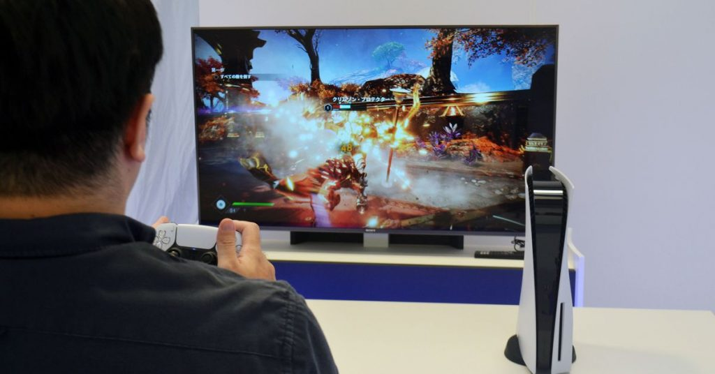First PS5 hands-on videos show off hardware and games, but no UI