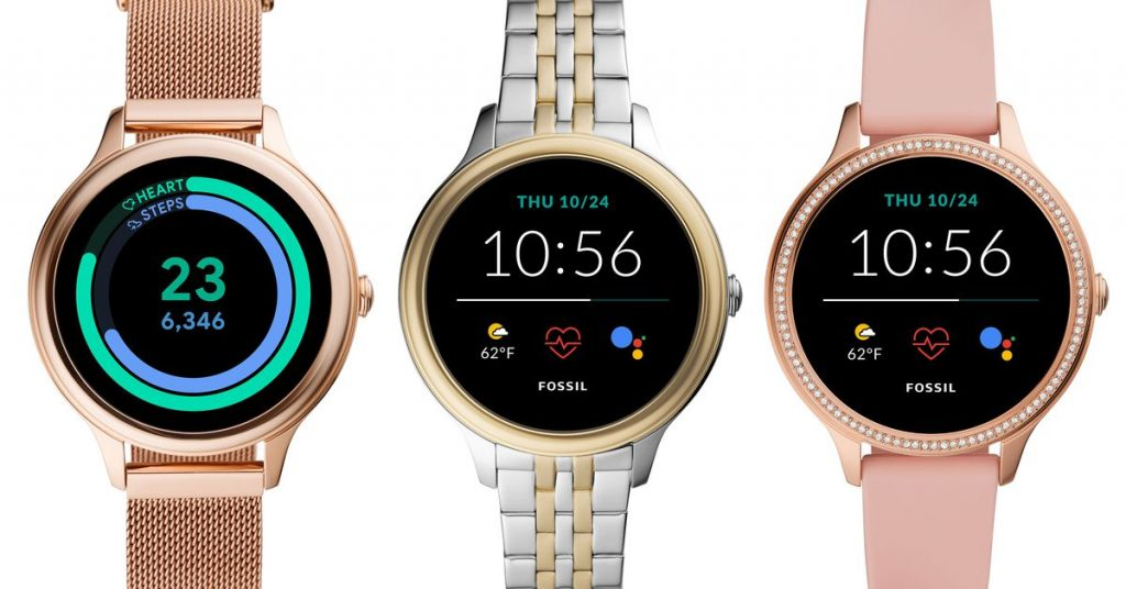 Fossil's new Wear OS smartwatches are smaller and more affordable