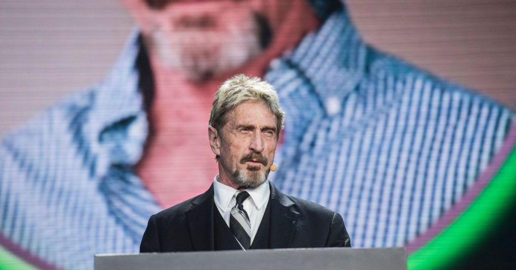 John McAfee has been arrested in Spain and is facing extradition