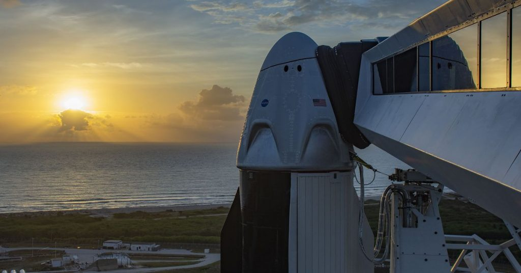 Launch of NASA's SpaceX Crew-1 mission delayed until November