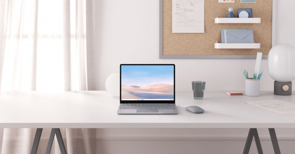 Microsoft's new $549 Surface Laptop Go aims to compete with Chromebooks