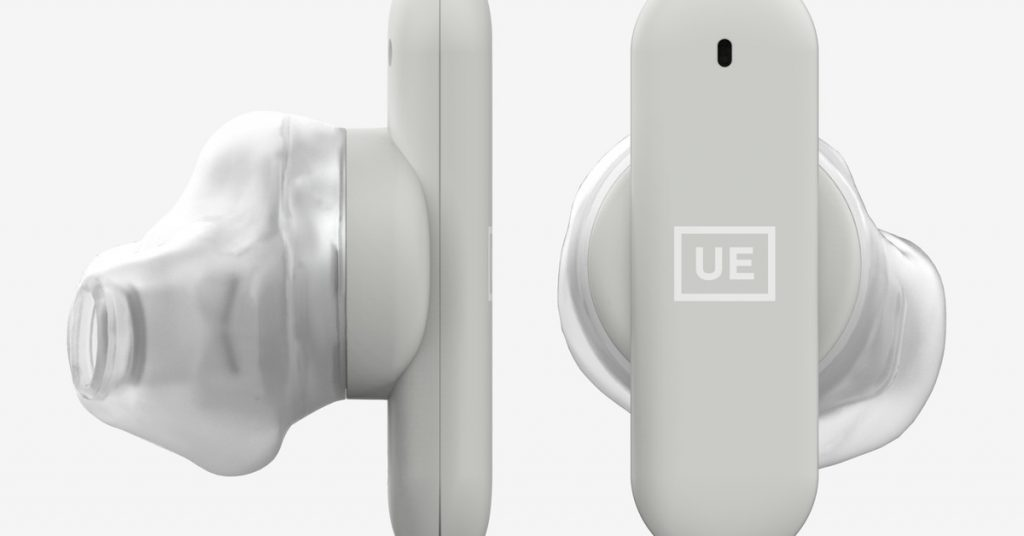 New UE Fits true wireless earbuds can mold to your ear shape for a perfect fit