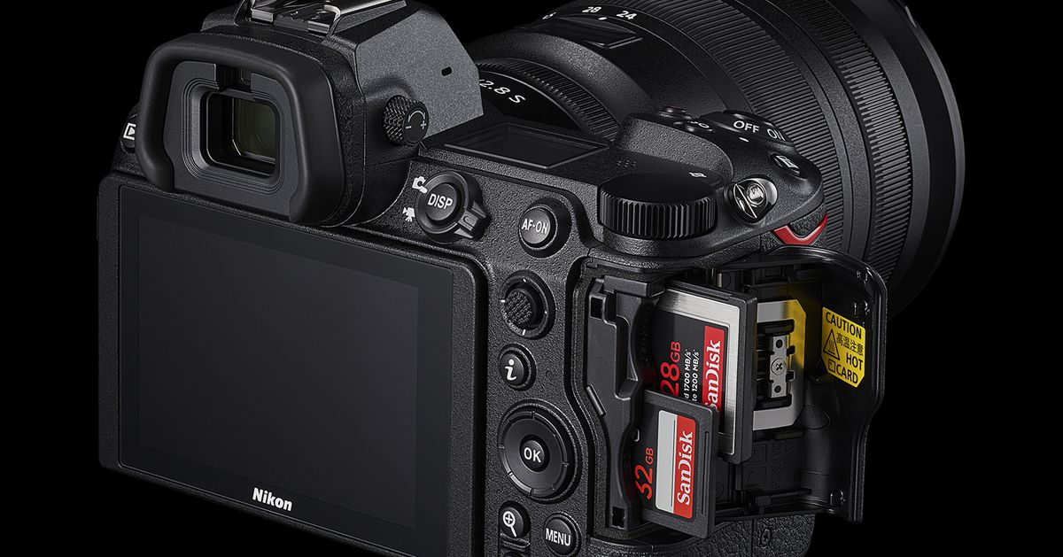 Nikon's Z6 II and Z7 II cameras add 4K60 video and a much-needed second memory card slot