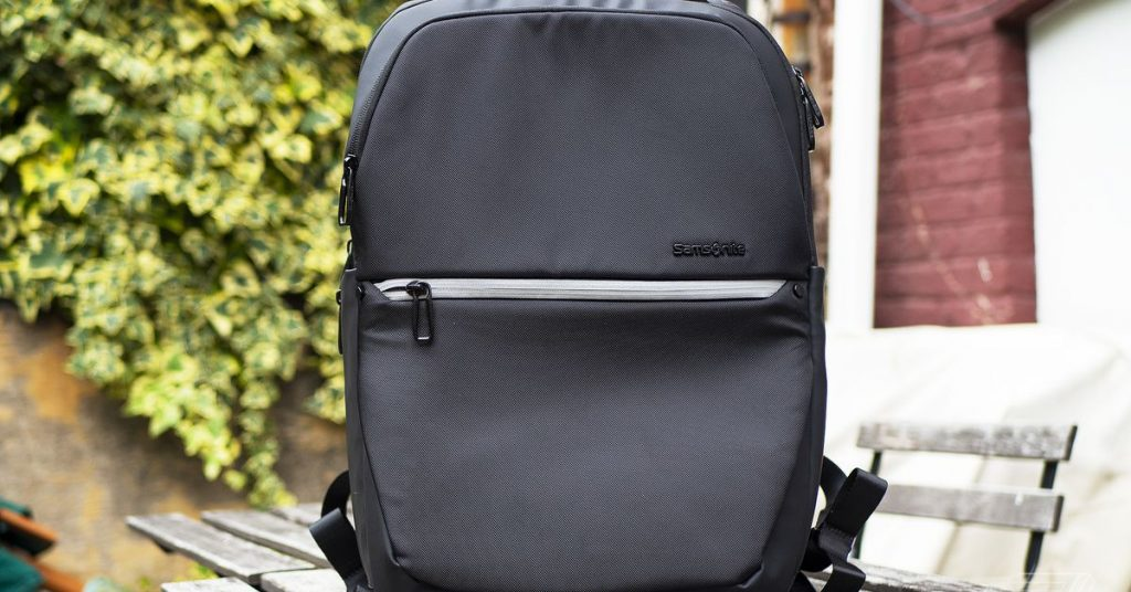Samsonite's Konnect-i is the most affordable backpack with Google's Jacquard tech