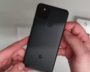 The just-announced Pixel 5 has somehow already been unboxed