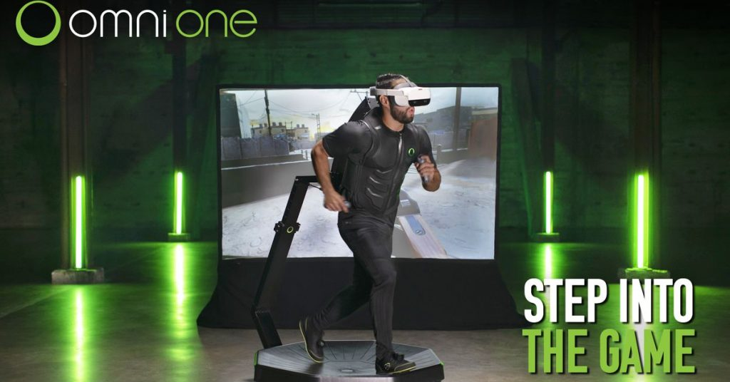 This extremely slippery VR treadmill could be your next home gym