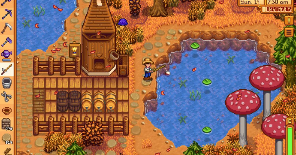 Stardew Valley's big local co-op update has come to consoles