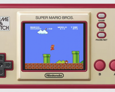 Nintendo is releasing a 35th anniversary Super Mario Bros. Game and Watch